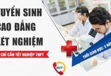Điểm chuẩn cao đẳng Xét nghiệm Y học Đà Nẵng 2019