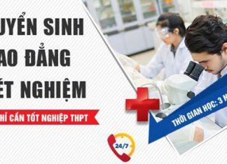 Thông báo tuyển sinh cao đẳng Xét nghiệm Y học Đà Nẵng
