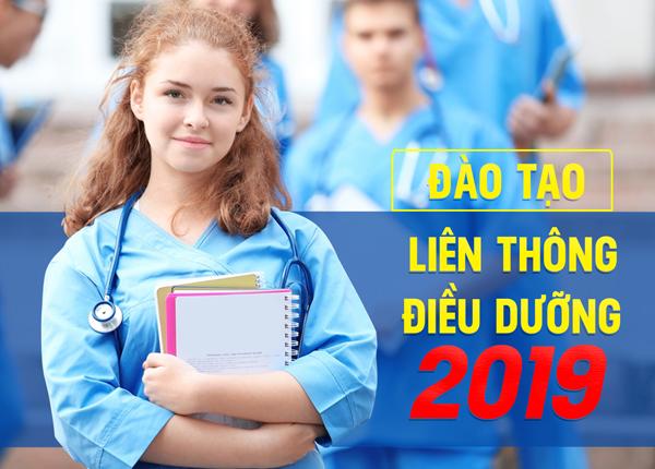 Thông báo tuyển sinh liên thông Đại học Điều dưỡng năm 2019