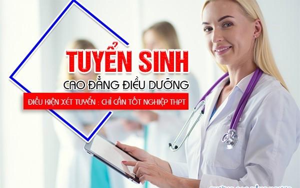 Thông báo tuyển sinh cao đẳng điều dưỡng Đà Nẵng
