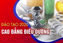 Cập nhập thông tin Tuyển sinh Cao đẳng Điều dưỡng hệ chính quy năm 2020